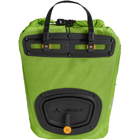 VAUDE Aqua Back Light Pannier 2 Pieces chute green